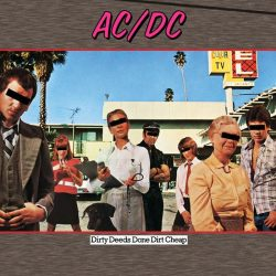 AC/DC: Dirty Deeds Done Dirt Cheap (CD, remastered, 16 pgs booklet)