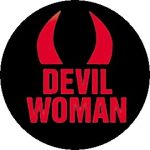 DEVIL WOMAN (jelvény, 2,5 cm)