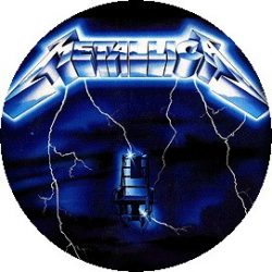 METALLICA: Ride The Lightning (jelvény, 2,5 cm)