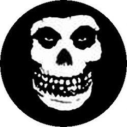 MISFITS: Skull (jelvény, 2,5 cm)