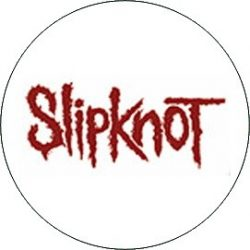 SLIPKNOT: Logo (jelvény, 2,5 cm)