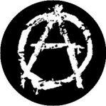 ANARCHY: Symbol (jelvény, 2,5 cm)