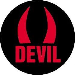 DEVIL (jelvény, 2,5 cm)