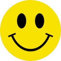SMILEY (jelvény, 2,5 cm)