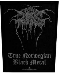 DARKTHRONE: True Norwegian (hátfelvarró / backpatch)