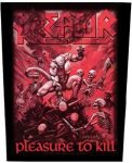 KREATOR: Pleasure To Kill (hátfelvarró / backpatch)