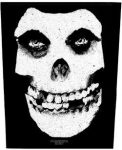 MISFITS: Skull (hátfelvarró / backpatch)