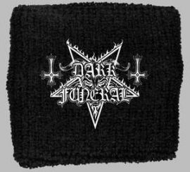 DARK FUNERAL: Logo (frottír csuklószorító)
