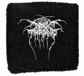 DARKTHRONE: Logo (frottír csuklószorító)