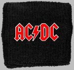 AC/DC: Logo (frottír csuklószorító)