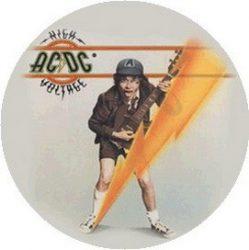 AC/DC: High Voltage (jelvény, 2,5 cm)