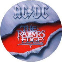 AC/DC: Razor's Edge (jelvény, 2,5 cm)