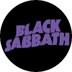 BLACK SABBATH: Master Logo (jelvény, 2,5 cm)