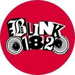 BLINK 182: Speaker Logo (jelvény, 2,5 cm)