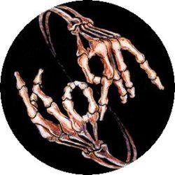 KORN: Signs (jelvény, 2,5 cm)