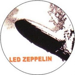 LED ZEPPELIN: 1st Album (jelvény, 2,5 cm)