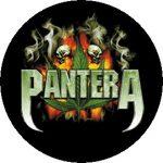 PANTERA: Leaf (jelvény, 2,5 cm)