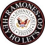 RAMONES: Logo (jelvény, 2,5 cm)
