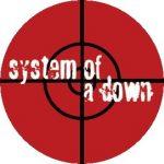 SYSTEM OF A DOWN: Target (jelvény, 2,5 cm)