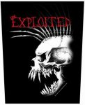 EXPLOITED: Bastard Skull (hátfelvarró / backpatch)