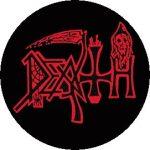 DEATH: Logo (jelvény, 2,5 cm)