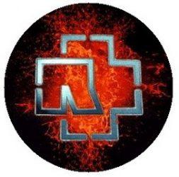 RAMMSTEIN: Lava (jelvény, 2,5 cm)