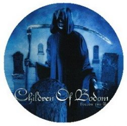 CHILDREN OF BODOM: Follow The Reaper (jelvény, 2,5 cm)