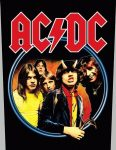 AC/DC: Highway To Hell (hátfelvarró / backpatch)
