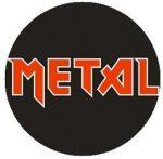 METAL (jelvény, 2,5 cm)
