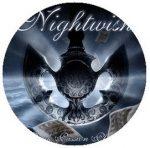 NIGHTWISH: Dark Passion Play (jelvény, 2,5 cm)