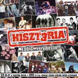 HISZTÉRIA: Eddig...very best off (CD+DVD) (akciós!)