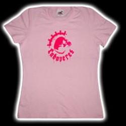 CADAVERES: Skull (rózsaszín) (női póló)