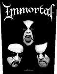 IMMORTAL: Faces (hátfelvarró / backpatch)