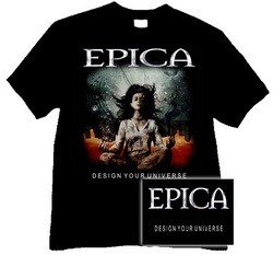 EPICA: Design Your Universe (póló)