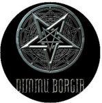 DIMMU BORGIR: Logo (jelvény, 2,5 cm)
