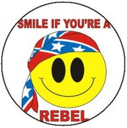 SMILEY: Smile If You're A Rebel (jelvény, 2,5 cm)