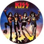 KISS: Destroyer (jelvény, 2,5 cm)