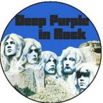 DEEP PURPLE: In Rock (jelvény, 2,5 cm)