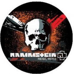 RAMMSTEIN: Reise (jelvény, 2,5 cm)