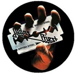 JUDAS PRIEST: British Steel (jelvény, 2,5 cm)