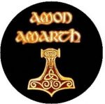 AMON AMARTH: Logo (jelvény, 2,5 cm)