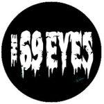 69 EYES: Logo (jelvény, 2,5 cm)