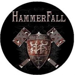 HAMMERFALL: Steel Meets (jelvény, 2,5 cm)