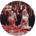 CANNIBAL CORPSE: Butchered At Birth (jelvény, 2,5 cm)