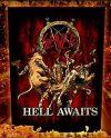 SLAYER: Hell Awaits (hátfelvarró / backpatch)