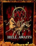 SLAYER: Hell Awaits (hátfelvarró / backpatch)