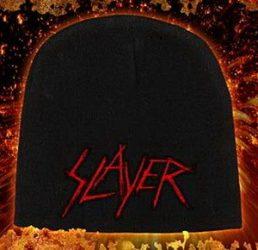 SLAYER: Logo Scratched (kötött sapka)