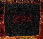 SLAYER: Logo (frottír csuklószorító)