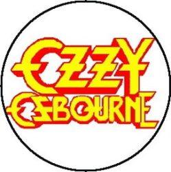 OZZY: Logo (jelvény, 2,5 cm)