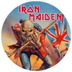 IRON MAIDEN: Trooper (jelvény, 2,5 cm)